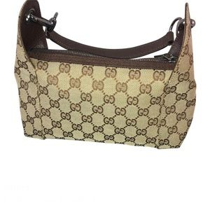 Gucci GG Pattarn Hobo Shoulder Bag